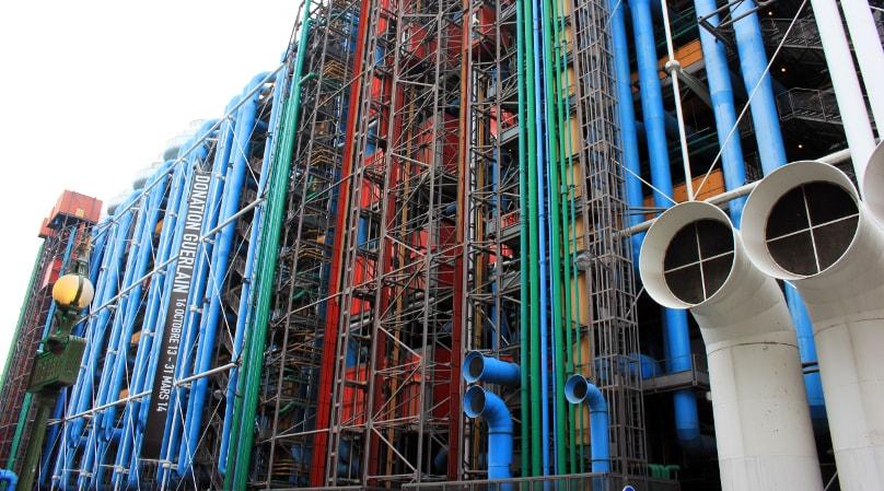 Museo Pompidou.Il Centro Georges Pompidou