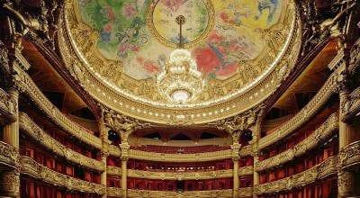 Dipinto di Marc Chagall nell'Operà Garnier