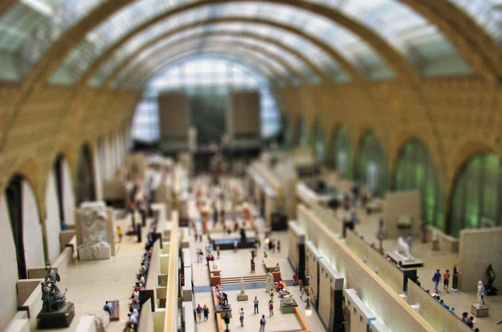 galleria principale del museo d'orsay