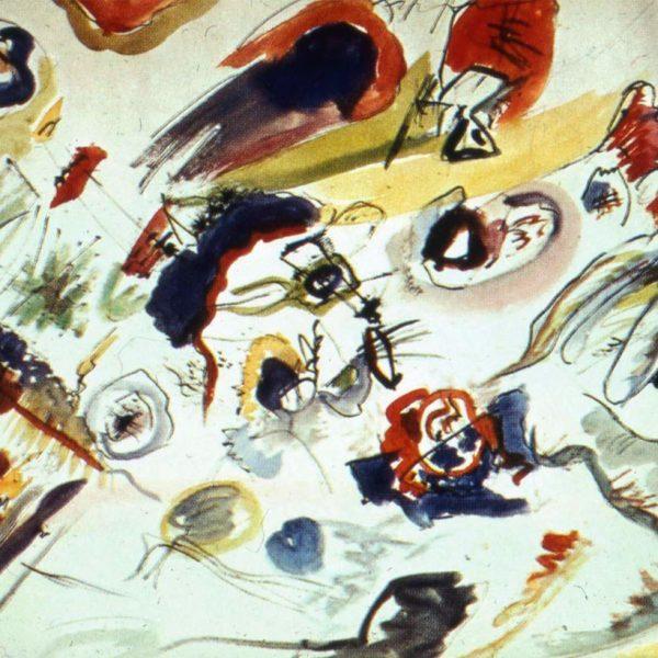 """""""Primo acquerello astratto"""", Vassilij Kandinsky (1910)"""