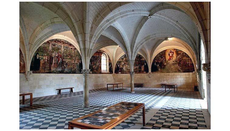 abbazia-fontevraud-sala-capitolare
