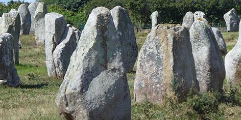 allineamento di pietre Carnac