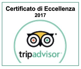Certificato Eccellenza Tripadvisor 2017 Parigirando Visite Guidate