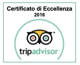 Certificato Eccellenza Tripadvisor 2016 Parigirando Visite Guidate