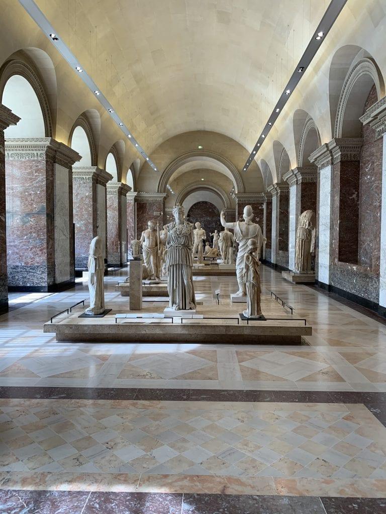 Museo del Louvre - Galleria Scultura Greca