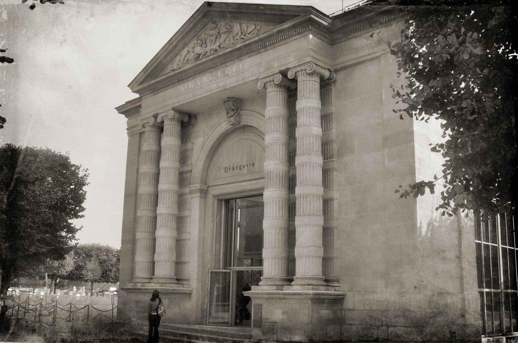 ingresso al museo dell'orangerie