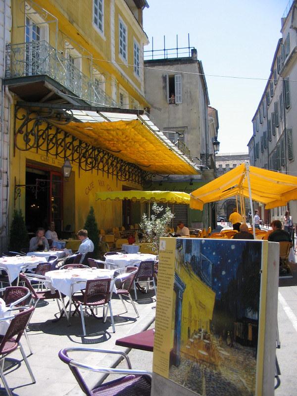 Café La nuit - Arles Place du Forum