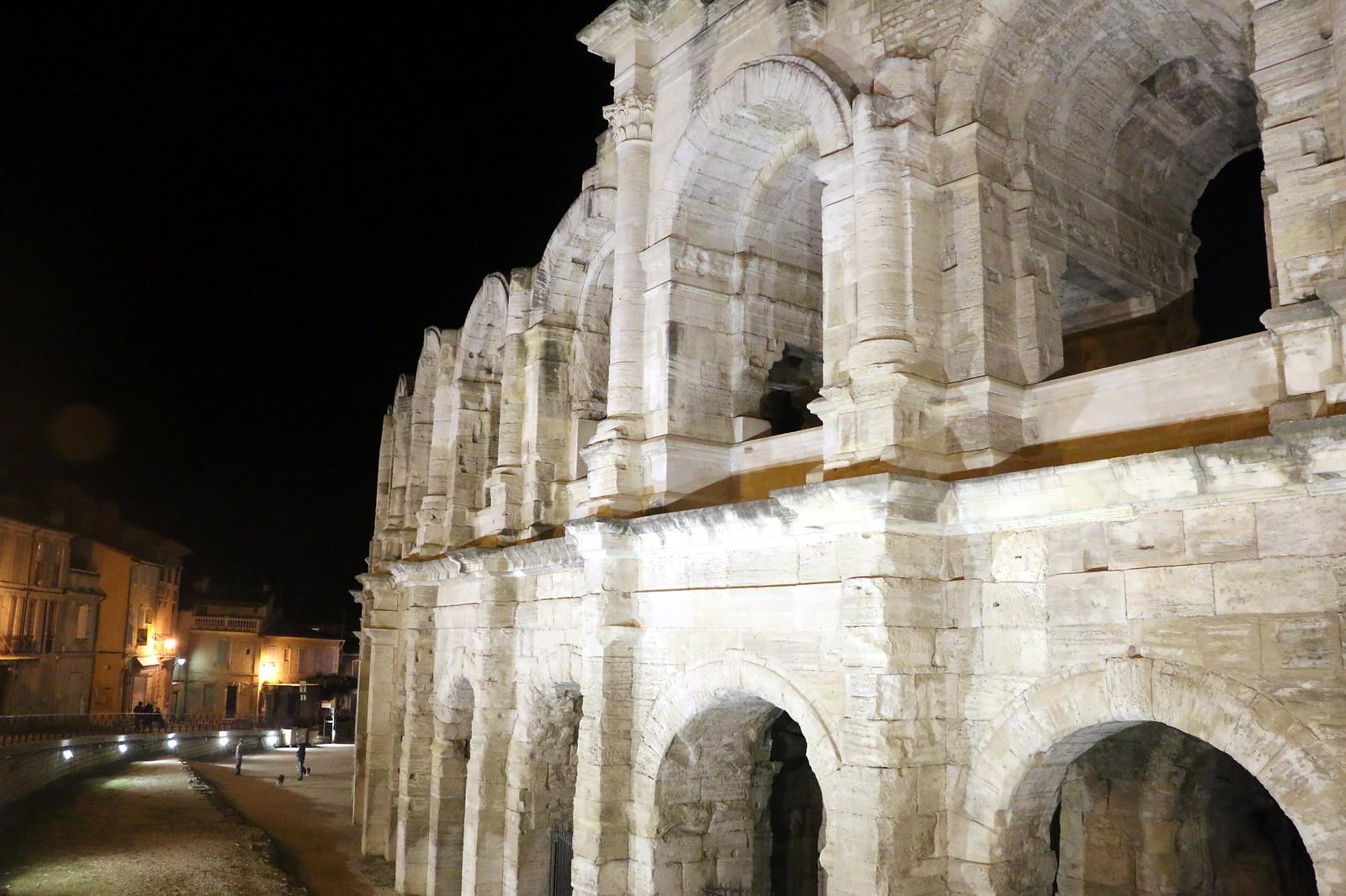 Particolare dell'arena di Arles