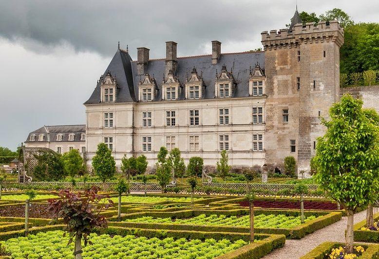vista del castello di villandry