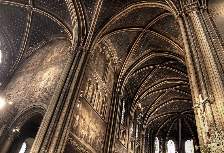 decorazioni interne dell'abbazia di saint germain des prés