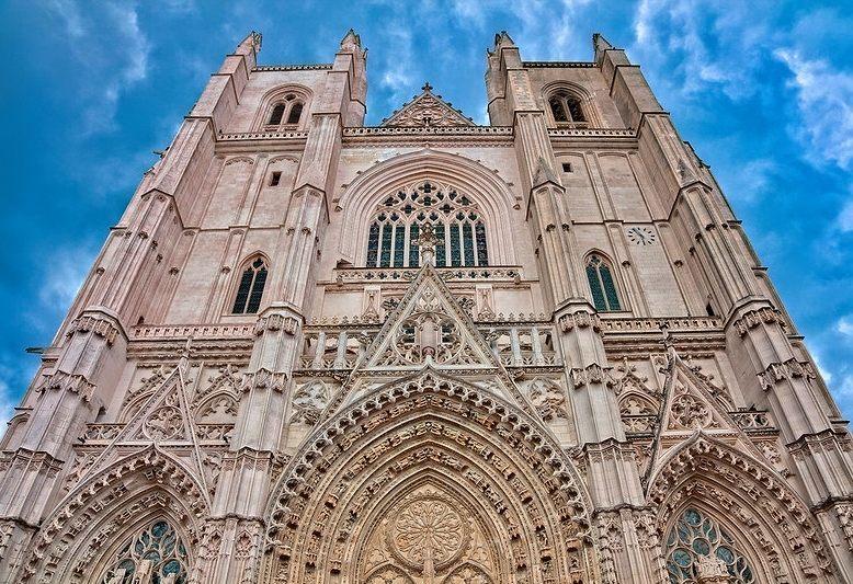 facciata della cattedrale di Nantes