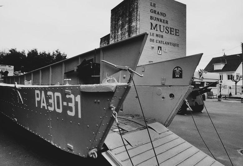 mezzo utilizzato per sbarco soldati americani