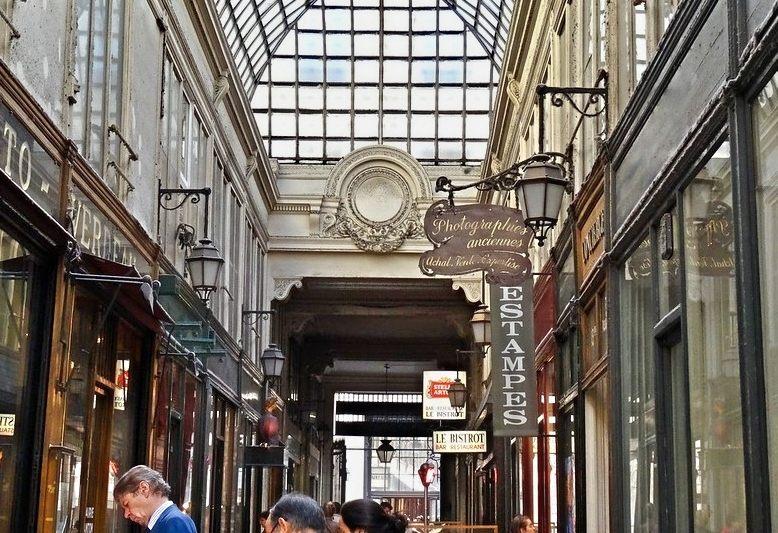 galleria grands boulevards a Parigi