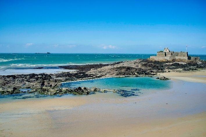 fortino nazionale di Saint Malo nel petit bé